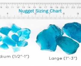 nuggets size chart